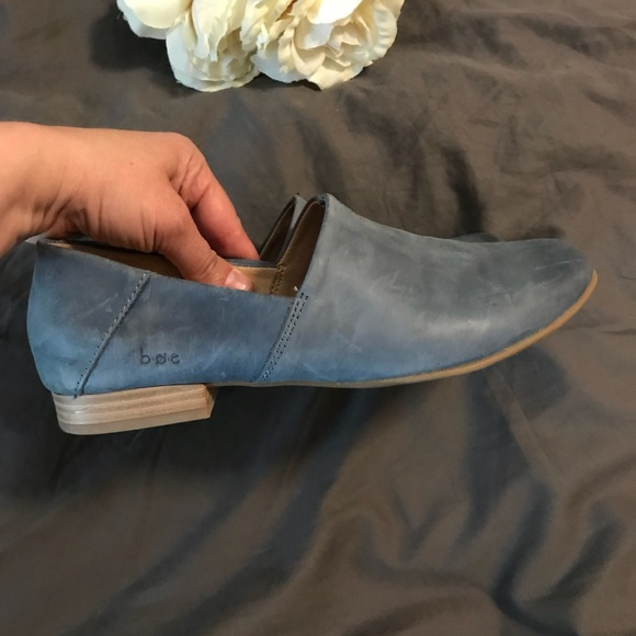 Reduced Boc Soft Leather Suree Loafers